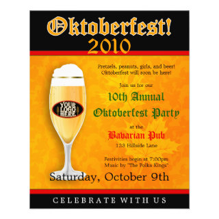 Oktoberfest Event Invitation Flyer