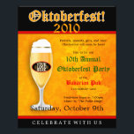 """Oktoberfest Event Invitation Flyer<br><div class=""""desc"""">This is a great Oktoberfest party invitation flyer for your pub&#39;s, bar&#39;s, or restaurant&#39;s Oktoberfest celebration. Really, this could be used for any company that celebrates Oktoberfest with a special party or perhaps a party put on by a local community center or a student party or This flyer invitation, featuring...</div>"""