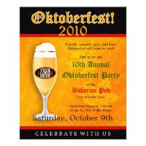 Oktoberfest Event Invitation Flyer