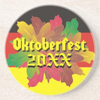 Oktoberfest Fallen Leaves Coaster