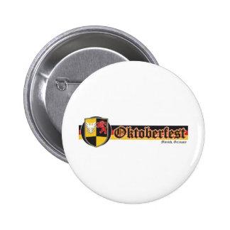 Oktoberfest-Fest-Banner Pinback Button