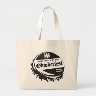 Oktoberfest Fest Bottle Cap Canvas Bag