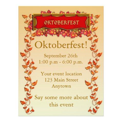 Oktoberfest Flyer flyer