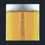 """Oktoberfest Foaming Beer Notepad<br><div class=""""desc"""">cool foaming beer design</div>"""