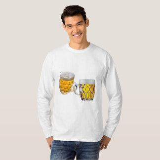 Oktoberfest Friends Two Beer Glasses Funny T-Shirt