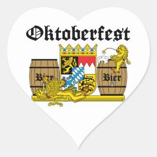 Oktoberfest - From Leon drunkards Heart Sticker