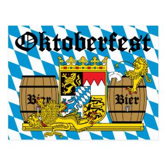 Oktoberfest - From Leon drunkards Postcard