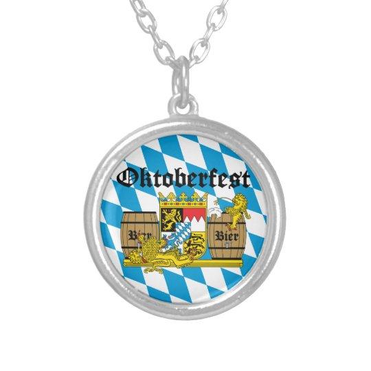 Oktoberfest - From Leon drunkards Silver Plated Necklace
