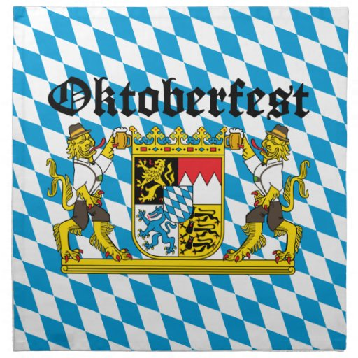 Oktoberfest - From Leon with beer Cloth Napkin
