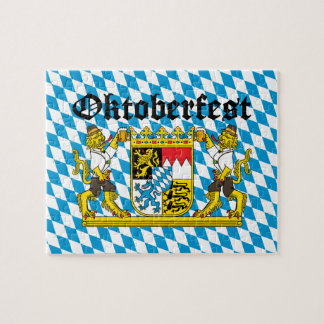 Oktoberfest - From Leon with beer Jigsaw Puzzle