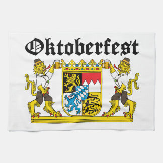 Oktoberfest - From Leon with beer Kitchen Towel