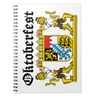 Oktoberfest - From Leon with beer Notebook