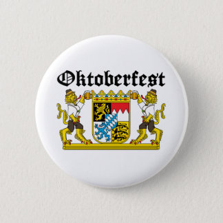 Oktoberfest - From Leon with beer Pinback Button