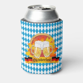 Oktoberfest German Beer Festival Can Cooler