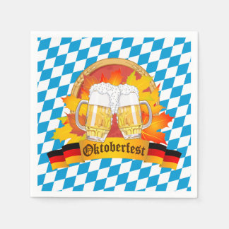 Oktoberfest German Beer Festival Paper Napkin