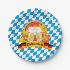 Oktoberfest German Beer Festival Paper Plate at Zazzle