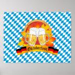 Oktoberfest German Beer Festival Poster