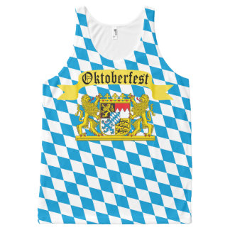 Oktoberfest German Bier Festival All-Over-Print Tank Top