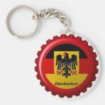 OKTOBERFEST GERMAN BOTTLECAP DESIGN KEY CHAIN