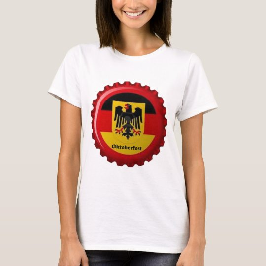 OKTOBERFEST GERMAN BOTTLECAP DESIGN T-Shirt