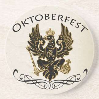 Oktoberfest German Eagle Crest Coaster