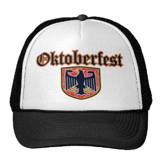 OKTOBERFEST German Fest Shield Trucker Hat