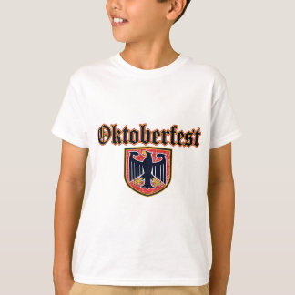 OKTOBERFEST German Fest Shield T-Shirt