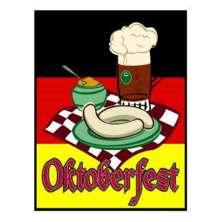 Oktoberfest Germany October Beer Deutschland Postcard
