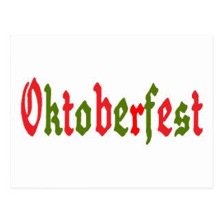 Oktoberfest Gift Postcard
