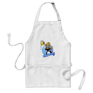 Oktoberfest - girl in a dirndl adult apron