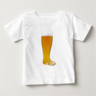 oktoberfest-glass-beer-boot baby T-Shirt