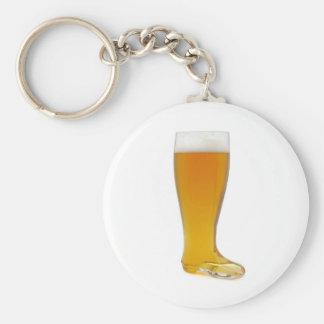 oktoberfest-glass-beer-boot basic round button keychain