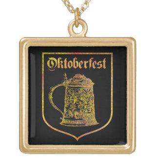 Oktoberfest Gold Plated Necklace