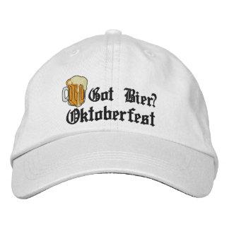 """Oktoberfest """"Got Bier?"""" Embroidered Cap"""