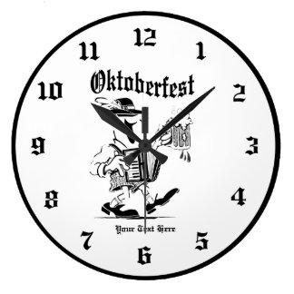 Oktoberfest Happy Participant Wall Clock Customize