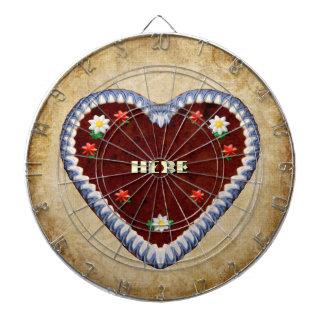 Oktoberfest Heart Dart Boards
