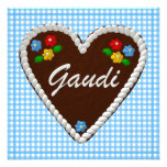 "Oktoberfest Heart ""Gaudi"" Custom Invitation"