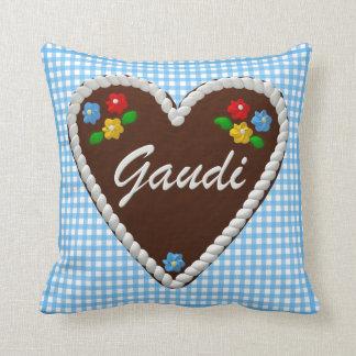 "Oktoberfest Heart ""Gaudi"" Pillow"