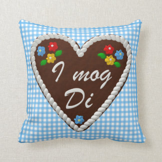 "Oktoberfest Heart ""I mog Di"" Pillow"