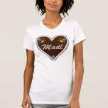 """Oktoberfest Heart """"Madl"""" T Shirts"""