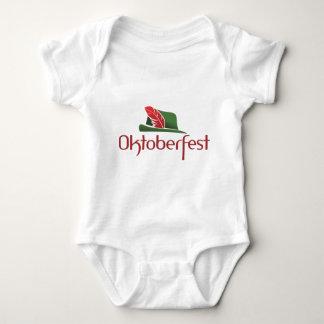 Oktoberfest Hut Baby Bodysuit