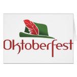 Oktoberfest Hut Cards