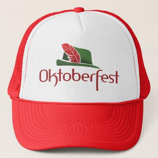 Oktoberfest Hut Trucker Hat