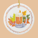 Oktoberfest in the Round Ornament