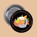 Oktoberfest in the Round Pinback Button