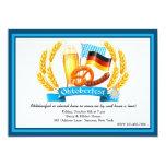 """Oktoberfest Ingredients Invitation 5"""" X 7"""" Invitation Card"""