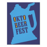 "Oktoberfest Invitations - Beer Tasting Party 4.25"" X 5.5"" Invitation Card"