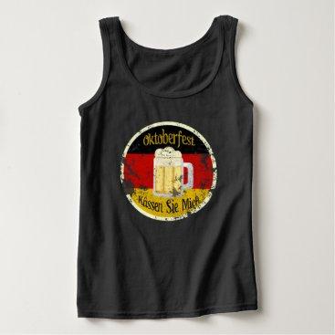 JerryLambert Oktoberfest Kiss Me Grungy Tank Top