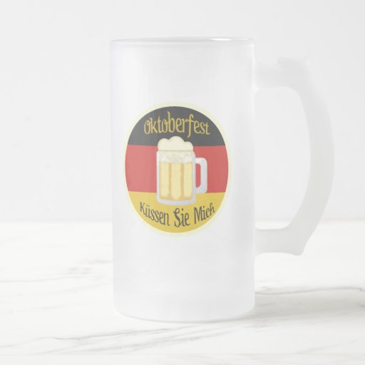 Oktoberfest Kiss Me Mug