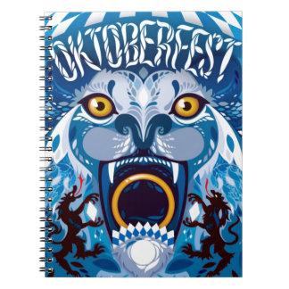 Oktoberfest Lion Notebook